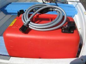 Mercury/Mariner Quicksilver Outboard Remote 25L Fuel Tank & Fuel Line