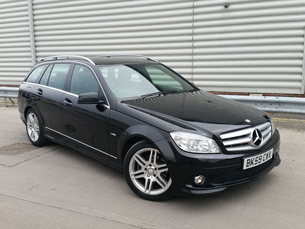 2010 mercedes c220 cdi sport auto tiptronic paddle shift estate immaculate in out fsh 111k. Black Bedroom Furniture Sets. Home Design Ideas