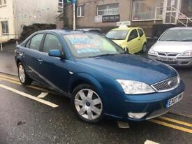 2007 Ford mondeo 2.0 ghia x, one owner 68k full history leather etc