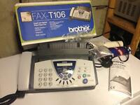 Brother fax machine in box