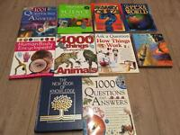 Books on knowledge about nearly everything