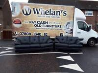3&2 seater sofa in a thick grade of black leather £345 mint mint condition