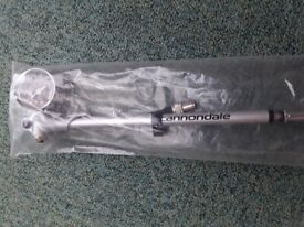 Cannondale airspeed air shock and fork pump