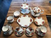 Royal Albert Antique Tea Set