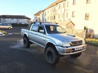 mitsubishi warrior l200 swap for tipper