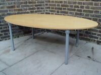 Wooden Table With Metal Legs Furniture