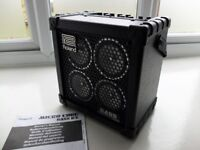 Roland Micro Cube Bass RX bass amplifier, like new, south Manchester (Wilmslow)