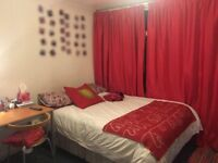 Double bedroom in a friendly house near brunel university in uxbridge
