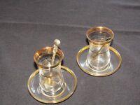 Turkish tea glasses