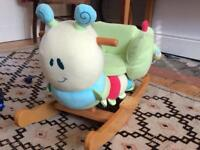 Curious caterpillar Infant Rocker