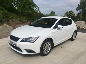 Seat Leon 1.6 Tdi SE Technology Pack 2014 77000 miles 1owner