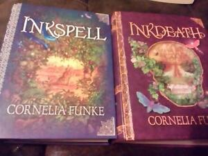 inkspell and inkdeath hardcover