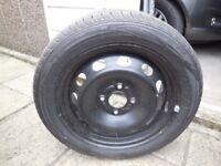 Brand New Tyre on steel rim