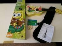 Spongebob squarepants ukulele set with box