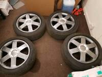 Audi allot wheels