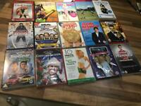 Mixed assortment of 15 dvds, sealed, car boot etc