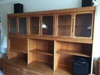 Wall Unit/ display/ drinks cabinet
