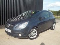 2008 (58) Vauxhall Corsa 1.3 CDTi 16v SXi 3dr Diesel Full Service History, May Px