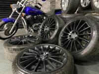 """19"""" inch amg black Mercedes Benz alloys c63 e63 a45 5x112 e c class Vito"""