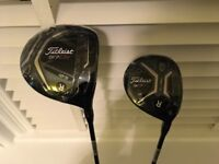**BRAND NEW** Titleist 917D2 10.5° driver AND Titleist 917F2 15° 3-wood. Only £460.