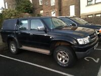 2002 Toyota Hilux D4d, 11 Month MOT 159000 Black, Alternator has gone and need a van, Nice Pick up