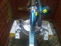 Makita LS1018L Slide Compound Mitre Saw 110v. Good Working Order...