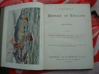 for sale 9 vol history of england all books is on very good condition