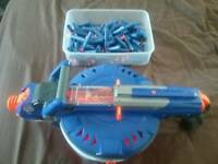 Nurf hail fire with 8 mags and lots of darts in great working condition reduced from £25