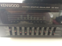 KENWOOD STEREO GRAPHIC EQUALIZER GE-800