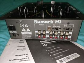 Numark M3 two-channel mixer