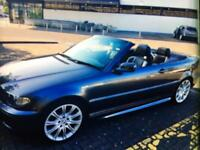 05 BMW 318i M/// sport electronic soft top full leather