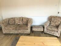 Sofa 2+1+1..£20