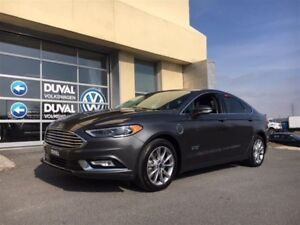 2017 Ford Fusion Energi SE Luxury, HYBRIDE RECHARGEABLE, CUIR, B