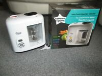 Tommee Tippee Baby Food Steamer Blender with Box and Instruction Book