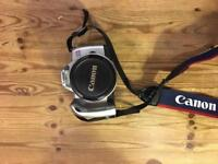 Canon EOS 300 camera and case