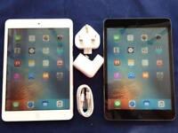 """Apple iPad Mini 2 7.9"""" 16GB/ 32GB/ 64GB/ 128GB - WiFi/ Cellular Unlocked + Warranty, NO OFFERS"""