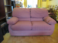 Nice Comfy 2 Seat Sofa. Must Go- FREE TO A GOOD HOME.