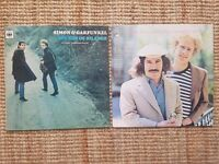 Simon and Garfunkel Vinyls x2, The sound of silence 1st Press, Greatest hits, Original