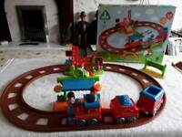 Happyland train station and accessories like new
