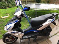 2016 lexmoto fmr 125 scooter motorbike