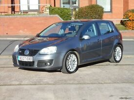 07 VW GOLF GT TDI + AUTO + FACELIFT + 170BHP