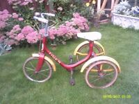 RALEIGH TIGER TRICYCLE ONE OF MANY QUALITY BICYCLES FOR SALE