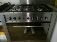 Indesit dual fuel ranger cooker