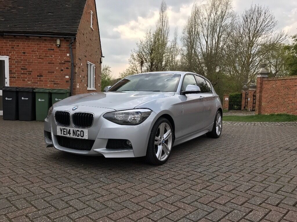silver bmw 1 series 118d m sport 5dr for sale in witham essex gumtree. Black Bedroom Furniture Sets. Home Design Ideas