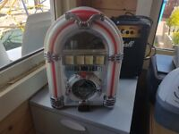 Mini Juke Box CD player and radio