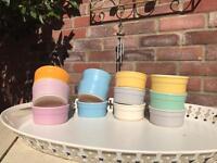 9 ceramic ramekins