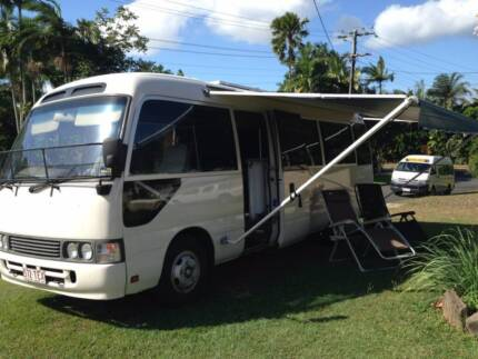Toyota Coaster LWB Motorhome Cairns 4870 Cairns City Preview