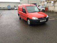 vauxhall combo van 2008 royal mail direct service history 118k miles no vat to pay