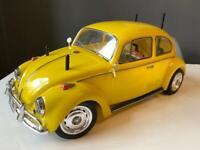 Vintage tamiya VW Beetle RC Radio Control model car 1996