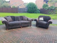 Luxury Sofology Thorpe 4-seater Sofa and Chair - £750